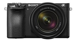 Cámara Sony A6500 Sin Espejo Con Lente De 18-135 Mm Con Pant