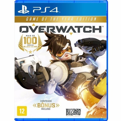 Overwatch (mídia Física) - Ps4