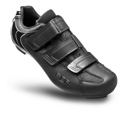 Zapatillas Ciclismo Ruta Flr F35 Negro