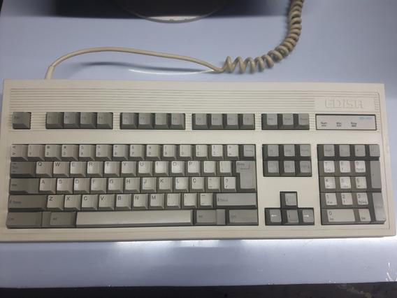 Teclado Pc Xt Mecânico Computador Antigo