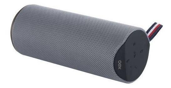Caixa De Som Bluetooth Speaker Spool Cinza Sk410 Oex 20w Rms