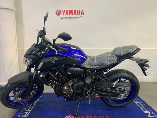 Imagem 1 de 5 de Yamaha Mt07 Azul 2022