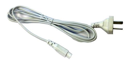 Cable Power En Semi Ocho (tipo B) 1.8 Mts Blanco Fz6030