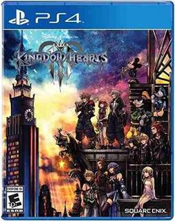 Juego Ps4 Kingdom Hearts 3 + 3 Art Cards