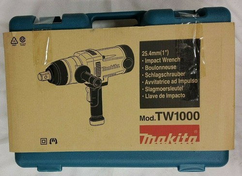 Makita 6922nb Shear Wrench & Tw1000 1 Impact Wrench