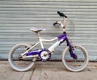 Bicicleta De Paseo Raleigh Para Nena Rod.16