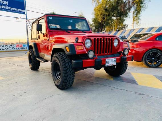 Jeep Wrangler Sahara Techo Duro At 2000