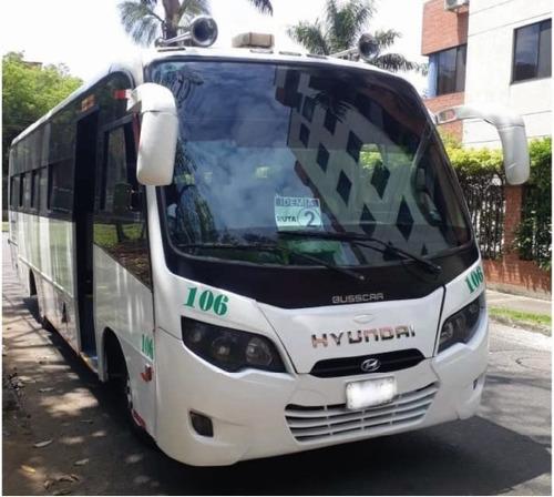 Busetón Hyundai Hd 78 34p - Transporte Especial