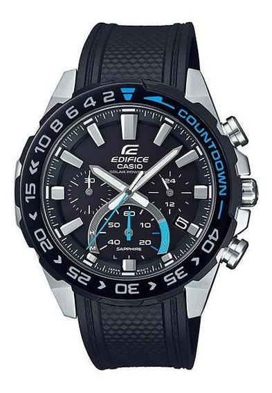 Reloj Casio Edifice Cronógrafo A Energía Solar Efs-s550pb-1