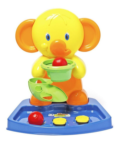 Joguinho De Basquete Elefante Infantil Cotiplas