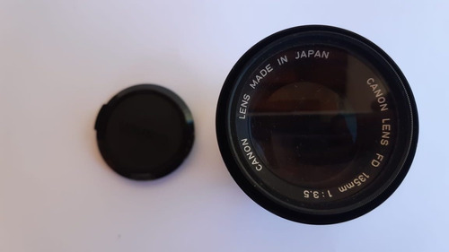 Lente Canon Fd 135mm 1:3.5