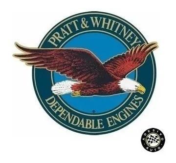 2 Adesivos Pratt & Whitney Aviação Frete Grátis