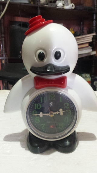 Reloj Alarma Pinguino Cuerdas,(no Usa Pilas)..15 Lechugas