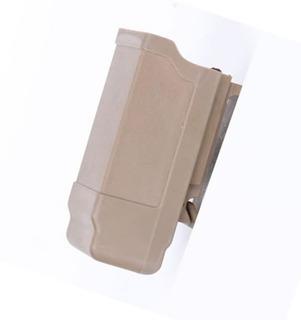 Fast Mag Pistola Polímero Real Airsoft 9mm .40 Tan