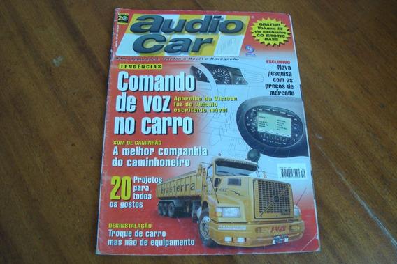 Revista Audio Car 39 / Comando De Voz No Carro / Equipament