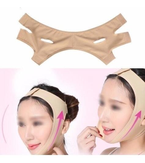 Modelador Facial Cinto Máscara Para O Rosto Firmeza Lifting