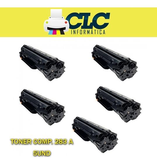 Toner Compatível Hp Universal Cf283a 83a Cx 5 Unidades