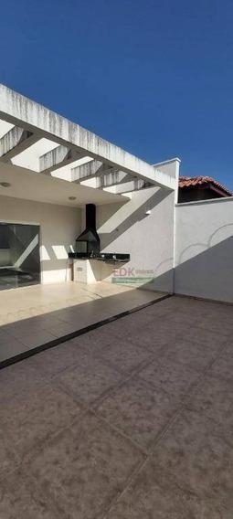 Casa Com 3 Dormitórios À Venda, 162 M² Por R$ 636.000 - Campos Do Conde - Tremembé/sp - Ca3367