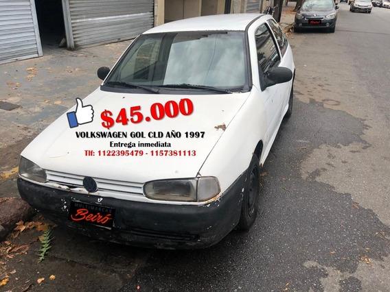 Volkswagen Gol Cld 3 Puertas Año 1997