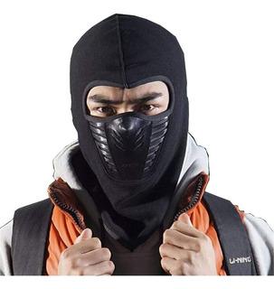 Touca Ninja Balaclava Air Flow Contra Frio Mascara Subzero