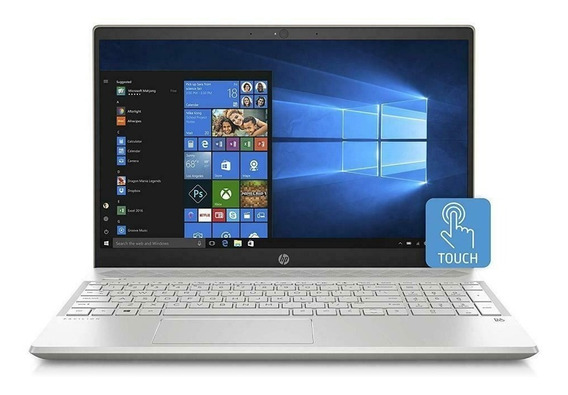 Notebook Hp 15 8ª Ger I7 8gb 512 Ssd Mx150 4gb 15,6 Touch