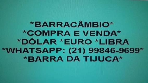 C.o.m.p.r.a. E V.e.n.d.a. Dólar Euro Libra No Rio De Janeiro