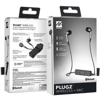 Fone De Ouvido Bluetooth Plugz Ifrogz Cinza