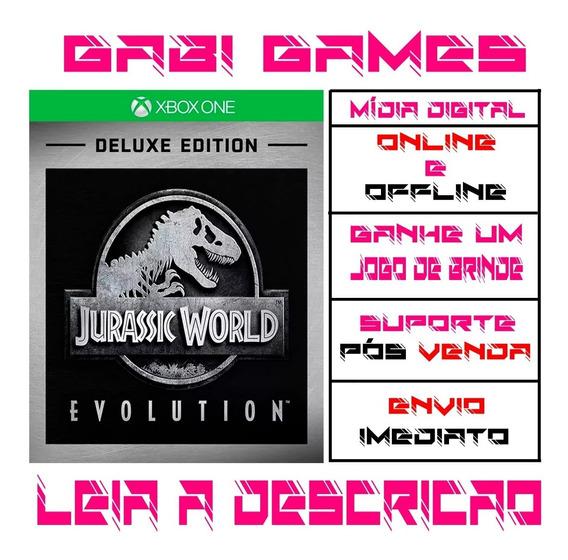Jurassic World Evolution Deluxe - Xbox One Offline + Brinde