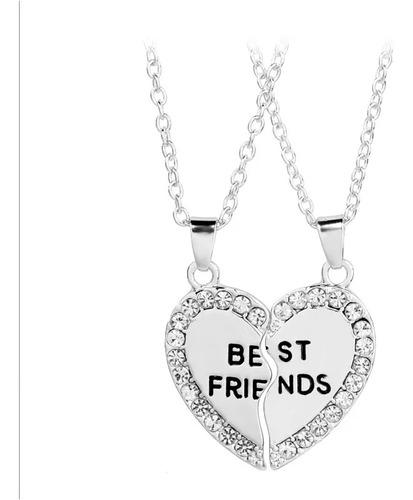 Collar Para Mejores Amigos (best Friends) 2 Piezas