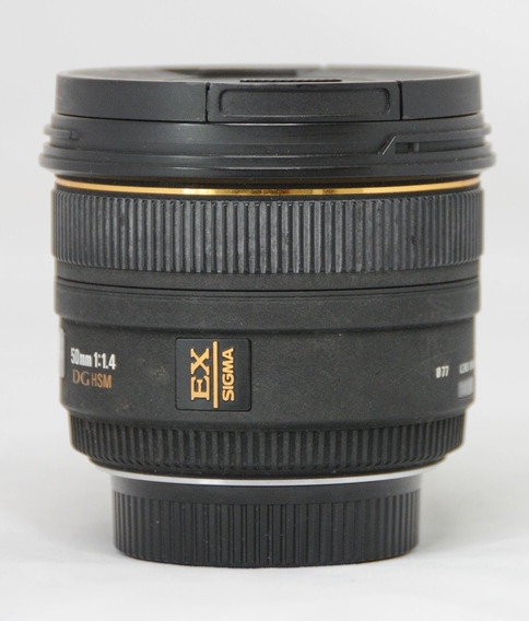 Objetiva Sigma 50mm F/1.4 Ex Dg Hsm Para Nikon Nao É Art.018