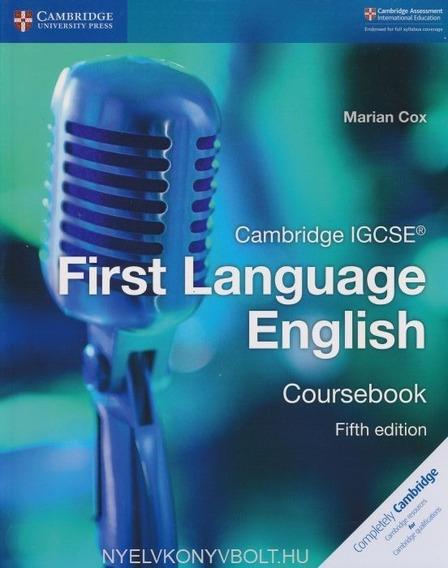 Cambridge Igcse First Language English - 5th Ed - Marian Cox