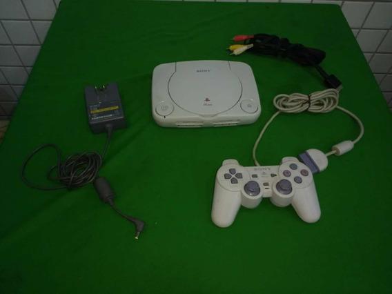 Playstation 1 Slim Completo Tudo Original