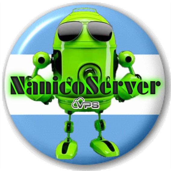 Servidor Privado Vps - Internet Ilimitado - Nanicoserver