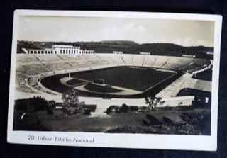 Cartão Postal Lisboa Estádio Nacional Portugal