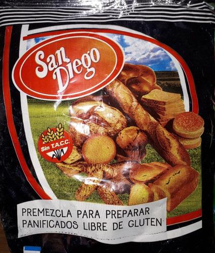 Caja De Premezcla De 20 Unidades ( San Diego)  Para Celiacos
