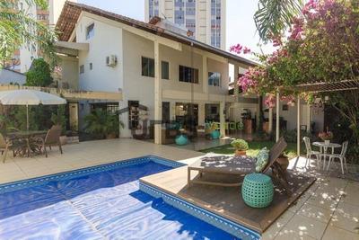 Sobrado Com 4 Dormitórios À Venda, 380 M² Por R$ 1.090.000,00 - Setor Sul - Goiânia/go - So0810