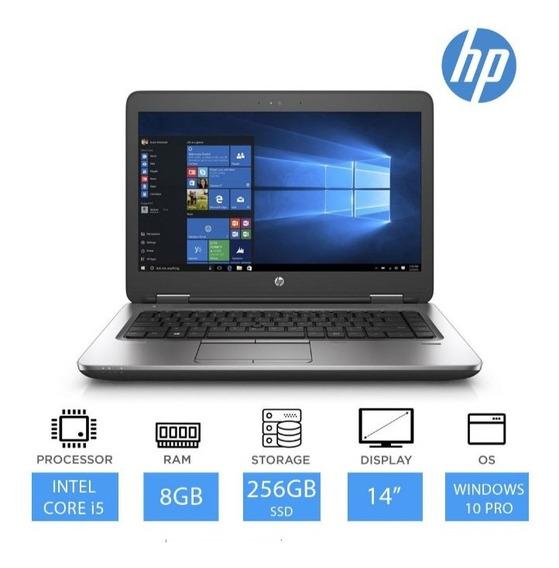 Notebook Hp 640 G2 Core I5 8gb D Ram E Ssdm2 256gb Novo