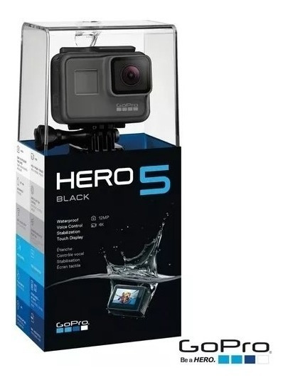 Gopro Hero 5 Black Original Lacrada + Nf