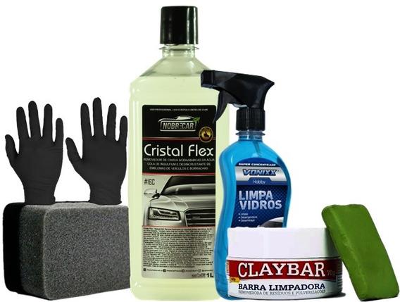 Tira Manchas Removedor De Chuva Ácida Cristal Flex Nobre Car