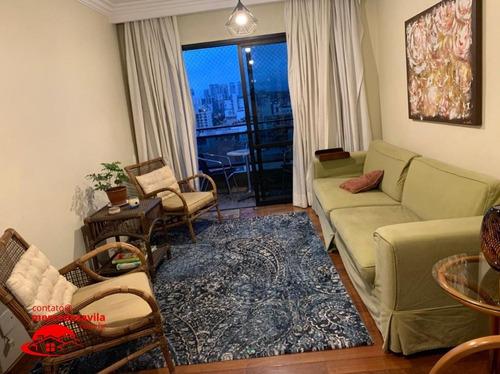 Imagem 1 de 15 de Apartamento Brooklin 4 Dms 2 Suites 3 Vagas Lazer - V-103848
