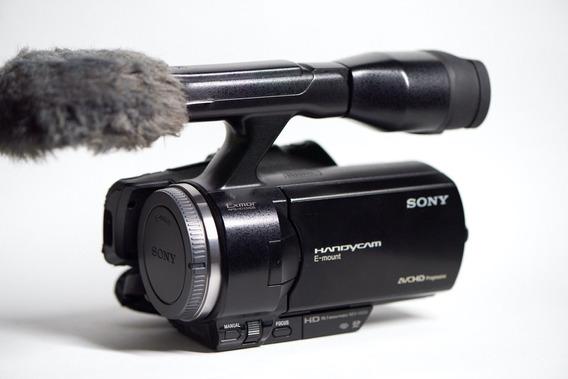 Sony Nex Vg30 Vg-30 Filmadora E-mount Imagem Igual Da A6000