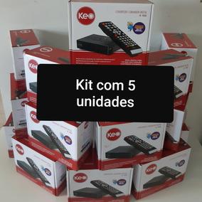 Kit (5 Unid) Conversor E Gravador Digital Full Hd K900