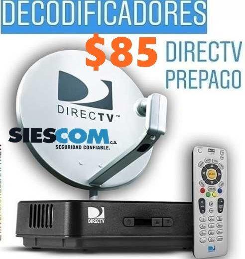 Kit Directv Sd Venezolano Con Control Y Cable