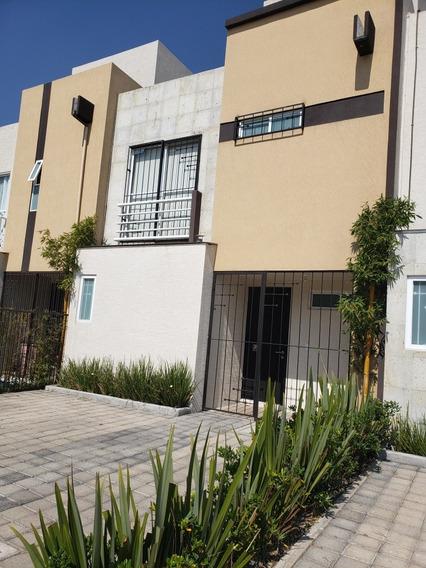 Se Renta Casa En Fraccionamiento Misiones Il, Toluca.
