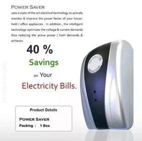 Saving Box Caixa De Poupar De Energia 90v-250v Novo Prata