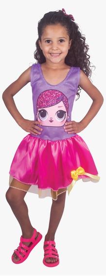 Fantasia Infantil Tam. G Vestido Doll Juju 2457 Brink Model