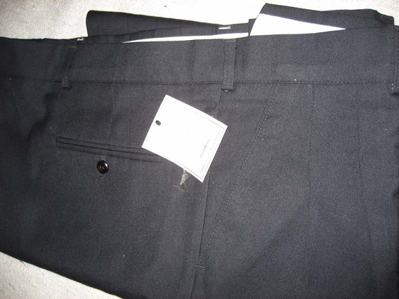 Pantalones T/56/58/60 En Acrocel De Sarga Liquido X F/talles