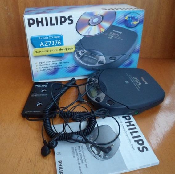 Discman Cd Player Philips + Cx Original + Manual