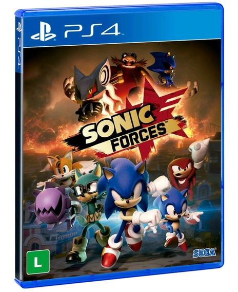 Sonic Forces Ps4 Mídia Física Lacrado