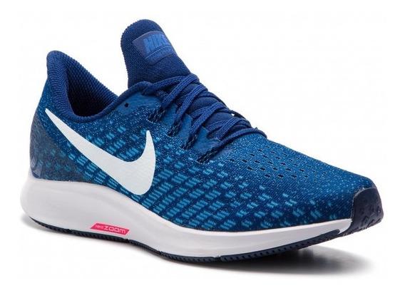 Zapatillas Nike Air Zoom Pegasus 35 Running Nueva Azul